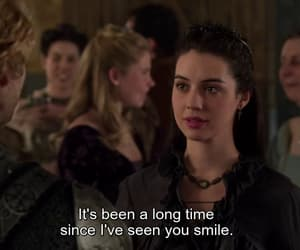 smile, mary stuart, and reign image