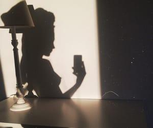 girl, naked, and shadow image