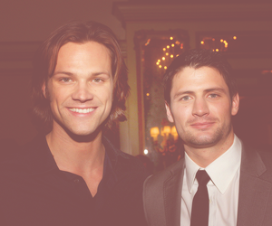 jared padalecki, james lafferty, and one tree hill image