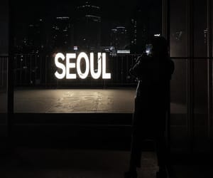 seoul, aesthetic, and dark image