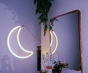 moon, aesthetic, and purple image