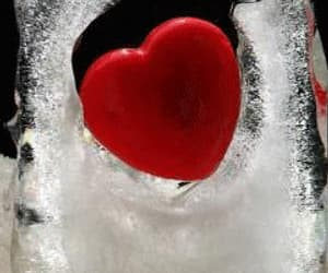 eis, heart, and ice image