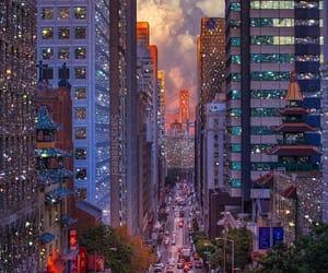 красиво night город image