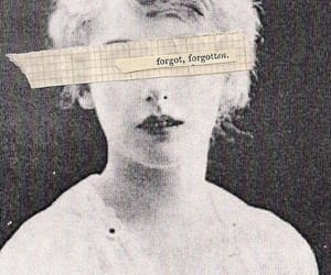 aesthetic, woman, and words image
