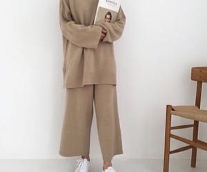 aesthetic, winter, and beige image