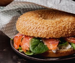 bagel, explore, and food image