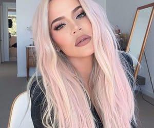 khloe kardashian and hair image