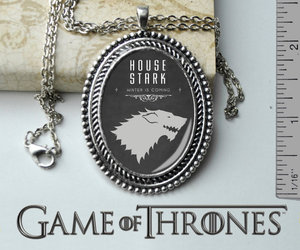game of thrones, game of thrones necklace, and game of thrones jewelry image