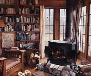 book and cabin image