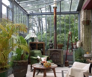 aesthetic, greenhouse, and plants image
