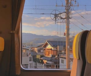 city, photography, and train image