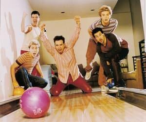 bowling, lance bass, and justin timberlake image