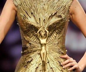 fashion, fashion week, and gold image