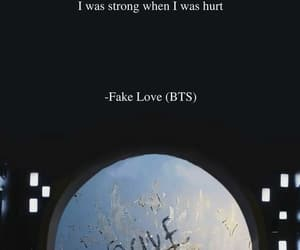 fake love and bts image