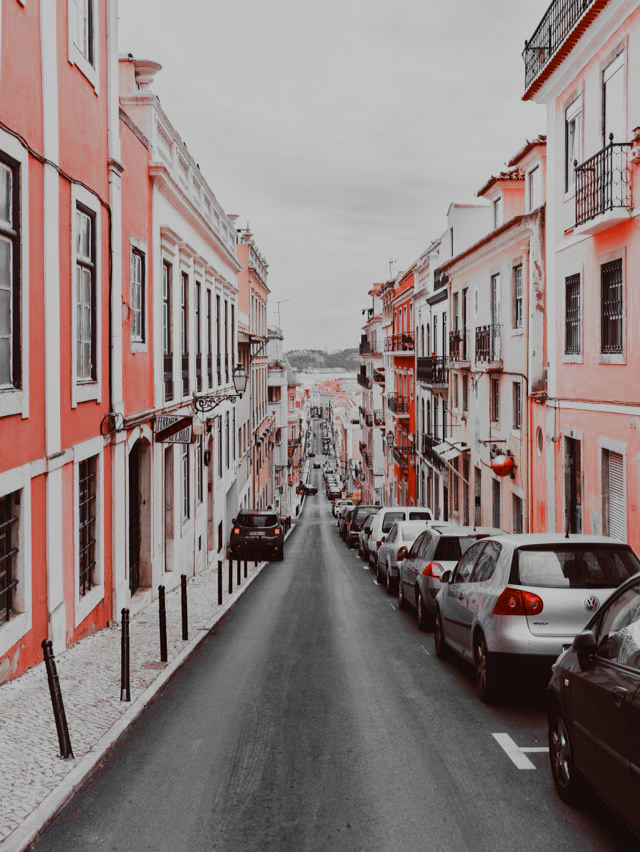 pastel, pink, and travel image