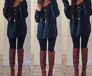 boots, fashion, and outfits image