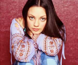 70's, actress, and Mila Kunis image