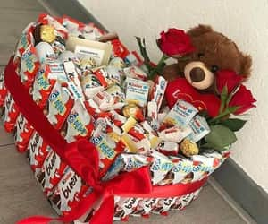 bear, gift, and i want it image