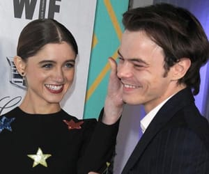 celebrity couple, jonathan byers, and natarlie image
