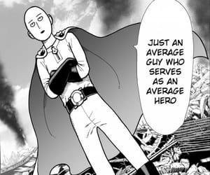 one punch man, metal bat, and geno's image