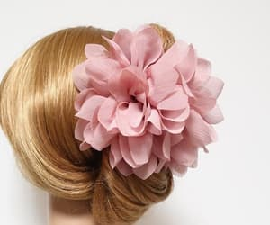 etsy, flower accessory, and flower hair claw image