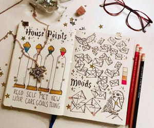 harry potter and bullet journal image