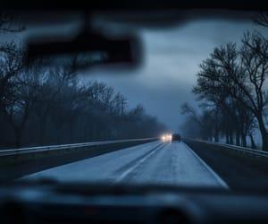 car, dark, and nature image