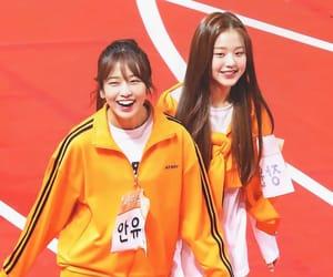 kpop, izone, and ahn yujin image