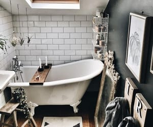 bathroom, beautiful, and clean image
