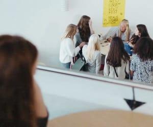 aesthetic, girls, and school image