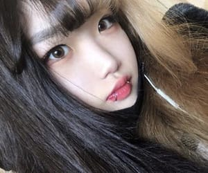 aesthetic, asian, and dark image