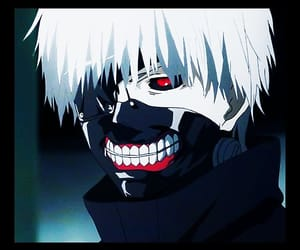 anime, ghoul, and tokyo ghoul image