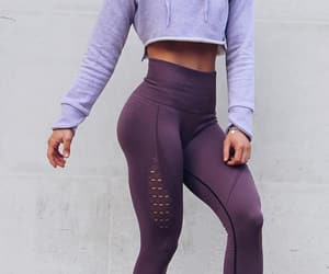 fashion, fitness, and girl image