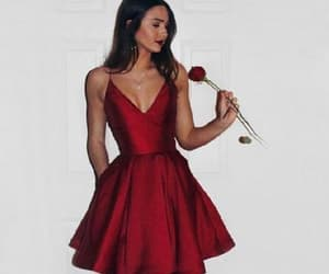 homecoming dress, homecoming dresses a-line, and homecoming dresses cheap image