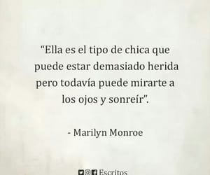 frases, Marilyn Monroe, and smile image