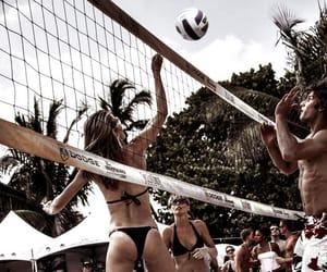 beach, sports, and bikini image