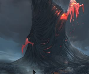 fantasy, giant, and horror image