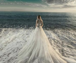 dress and ocean image