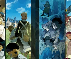 anime, manga, and yakusoku no neverland image