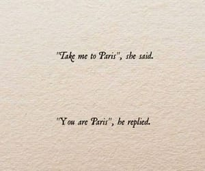 paris, quotes, and love image