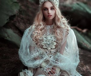 beautiful, crown, and fairytale image