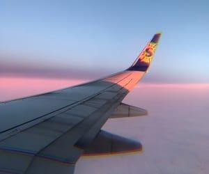 airplane, clouds, and hawaii image