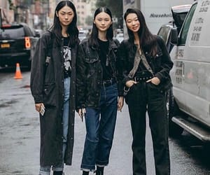 aesthetic, korean, and seoul fashion week image