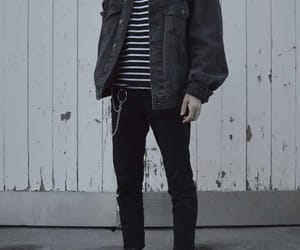 chains, outfit, and sneakers image