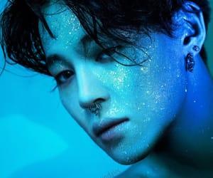 blue, edit, and 방탄소년단 image