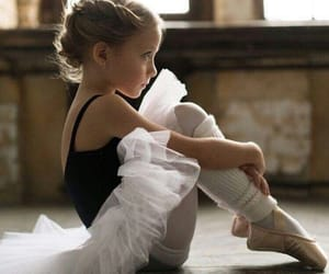 adorable, ballerina, and dance image