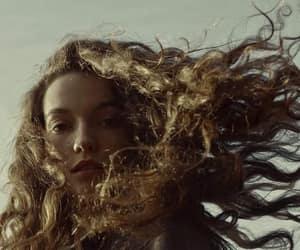 aesthetic, dark, and hair image