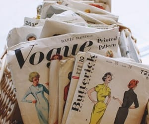 vogue, vintage, and fashion image