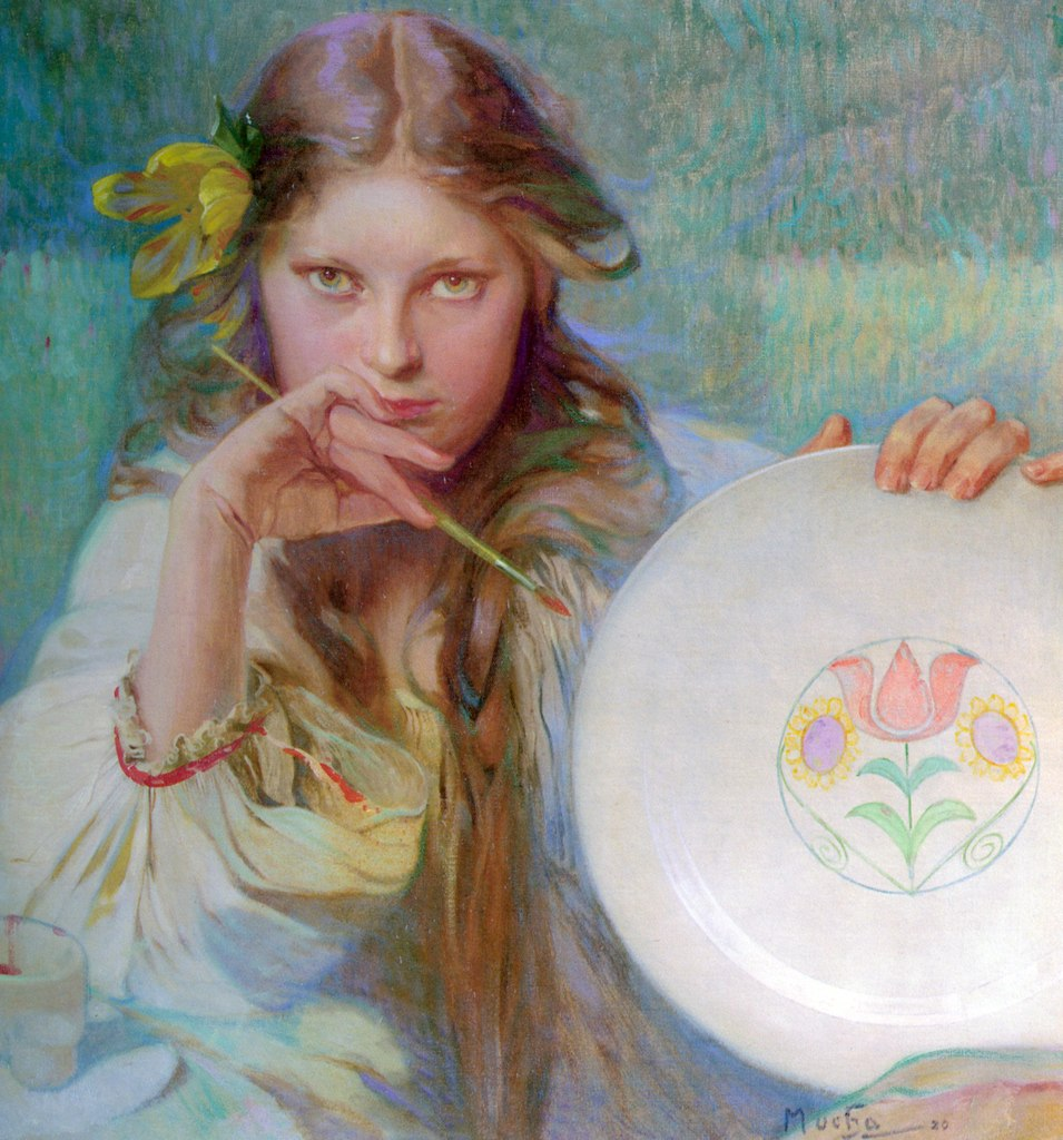alphonse mucha, article, and paintings image