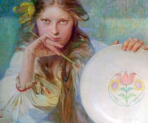 alphonse mucha, art, and artist image